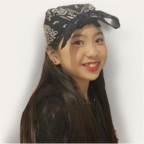 三枝 遥さん(11歳)